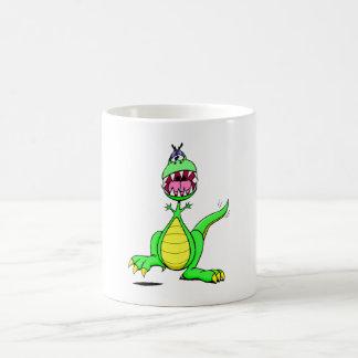 Excited Dinosaur Mug