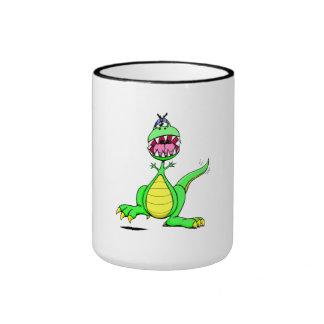 Excited Dinosaur Mugs