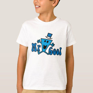 Excited Mr. Cool Jumping For Joy Tee Shirts