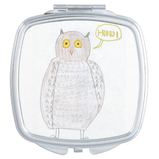 Excited Owl Mirror