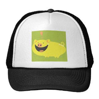 EXCITED PIGGY!! CAP
