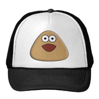 Excited Pou Hat
