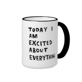 excited! ringer mug