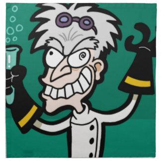 excited scientist napkin
