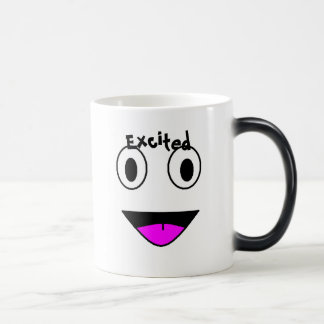 Excited Temperature Changing Mug
