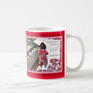 Excitement (tanka mug) coffee mug