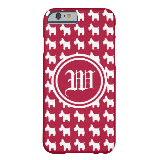 Excitement (Westies) Monogram Barely There iPhone 6 Case