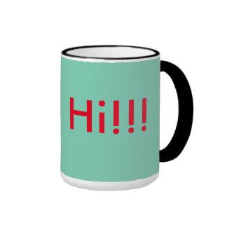 Exciting Coffee Ringer Mug