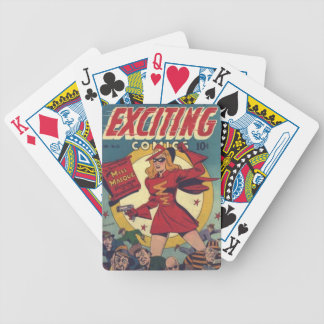 Exciting Comics Bicycle Playing Cards