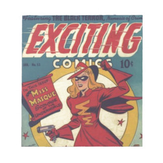 Exciting Comics Notepad