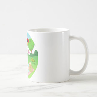 Exciting Happy Mug Illustration