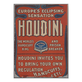 Exciting Houdini Poster