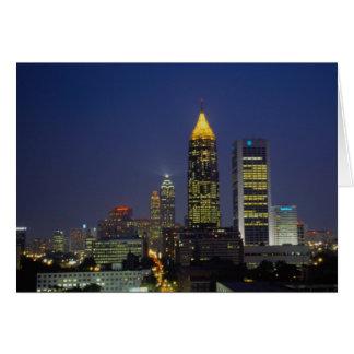 Exciting nightlife, Atlanta, Georgia, U.S.A. Card