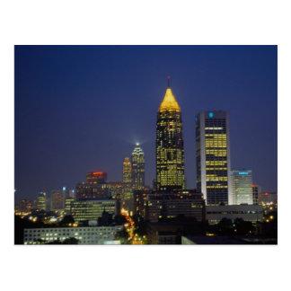 Exciting nightlife, Atlanta, Georgia, U.S.A. Postcards