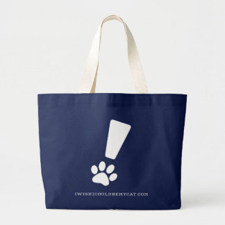 EXCLAMATION AT PAW! Jumbo Tote