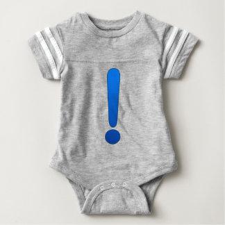 Exclamation Mark Baby Bodysuit
