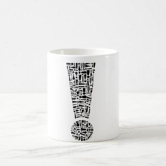 Exclamation Point Coffee Mug