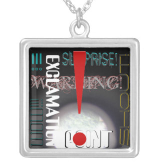 Exclamation Point! Necklace
