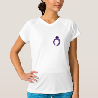 Exclusive IBP Purple Awareness Ribbon T-Shirt