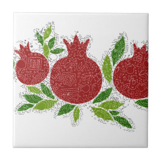 Exclusive jewish israeli design made in Jerusalem Ceramic Tile