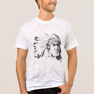 Exclusive Red Indian face T-Shirt
