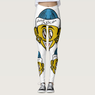 [Exclusive] Women's Ago Vita Leggings(White) Leggings