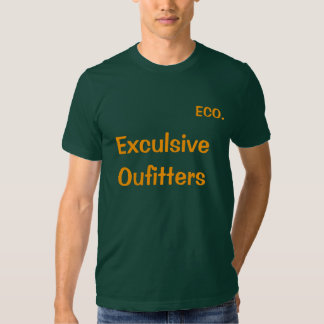 Exculsive Outfitters Logo T Tee Shirts