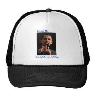 Excuse me  Obama hat