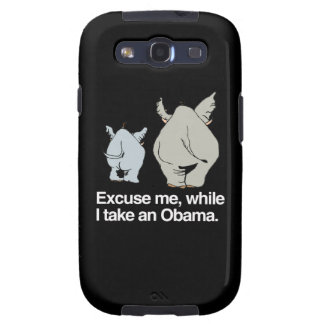 Excuse me while I take an Obama -.png Samsung Galaxy S3 Cover
