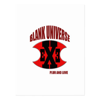 EXE Blank Universe Post Cards