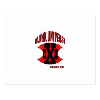 EXE Blank Universe Postcards