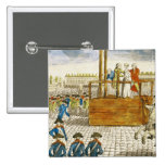 Execution of Marie-Antoinette Button