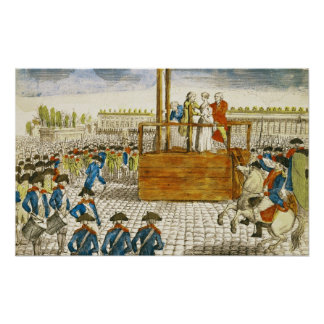 Execution of Marie-Antoinette Print