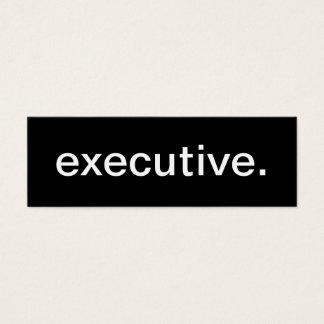 Executive Business Card