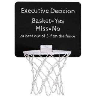 Executive Decision Mini Basketball Hoop