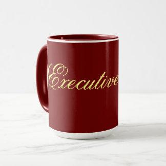 executive mug Wine color