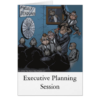 Executive Planning Card