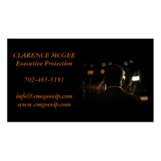 Executive Protection Pack Of Standard Business Cards