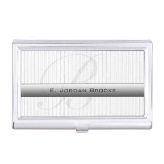 Executive Series M-2 (White) Business Card Case