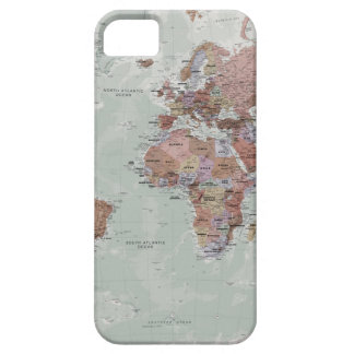 Executive World Map iPhone 5 Covers