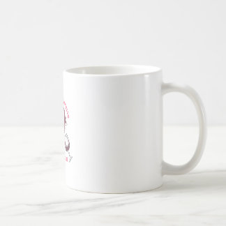 EXERCISE AND SPILLED WINE COFFEE MUG