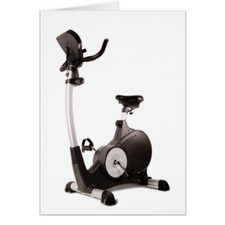 Exercise Bike Card