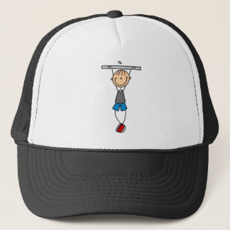 Exercise Chin Ups Tshirts and Gifts Trucker Hat