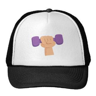 Exercise Dumbbell Trucker Hat