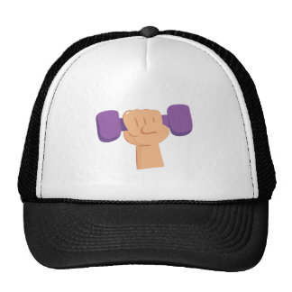 Exercise Dumbbell Mesh Hats