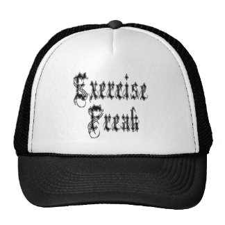 Exercise Freak Shirt Hats