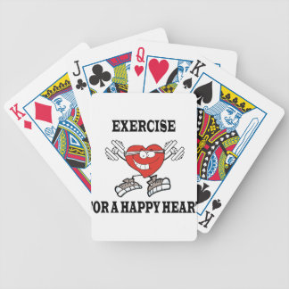 exercise heart2 bicycle playing cards