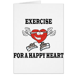exercise heart2 card