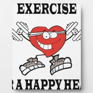 exercise heart2 plaque
