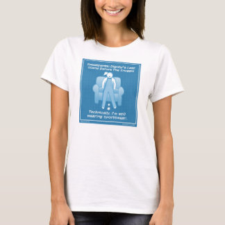 """Exercise in Futility"" Women's T-shirt"